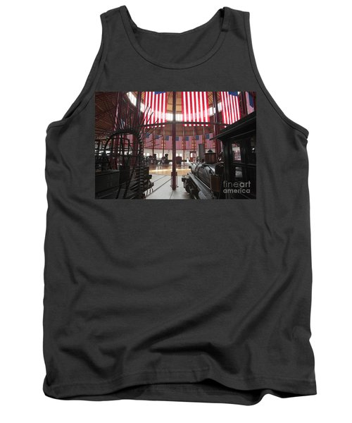 In The Roundhouse At The B And O Railroad Museum In Baltimore Tank Top