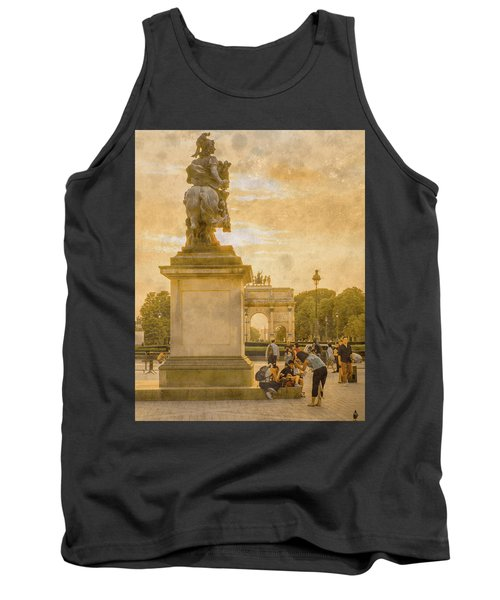 Paris, France - In The Shadow Of Glory Tank Top