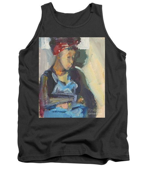 In The Still Of Quiet Tank Top by Daun Soden-Greene