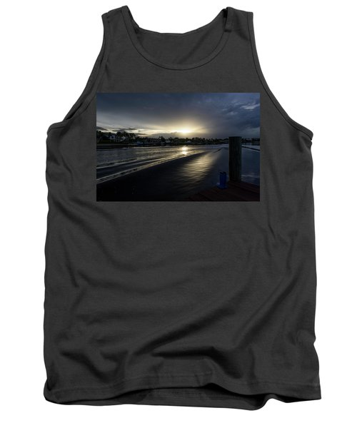 Tank Top featuring the photograph In The Wake Zone by Laura Fasulo