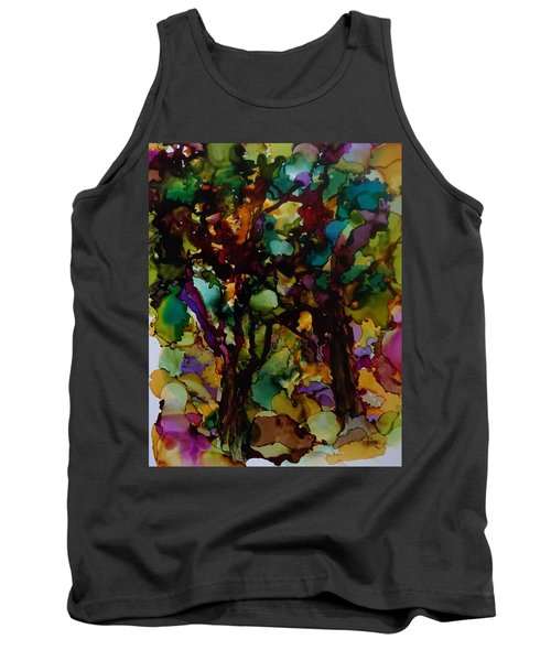 In The Woods Tank Top by Alika Kumar