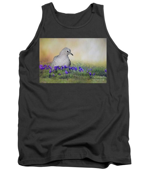 Tank Top featuring the photograph Inca Dove  by Bonnie Barry