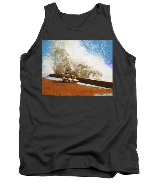 Incoming Tank Top by Thomas Blood