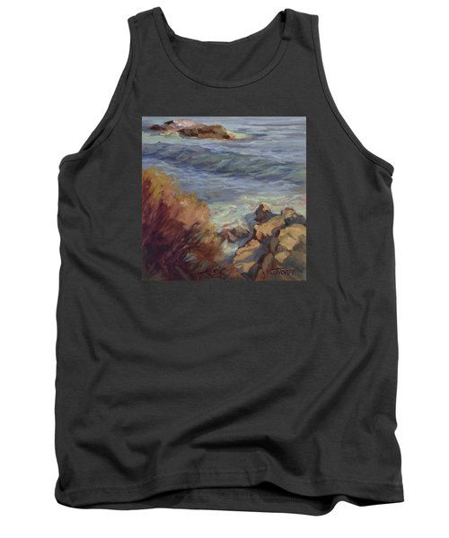 Incoming Wave Tank Top by Jane Thorpe