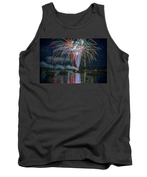 Tank Top featuring the photograph Independence Day In Maine by Rick Berk