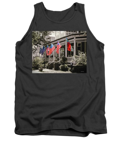 Independence Day Southport Style Tank Top by Phil Mancuso