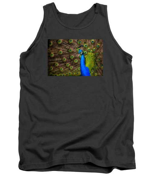 Tank Top featuring the photograph India Blue by Rikk Flohr