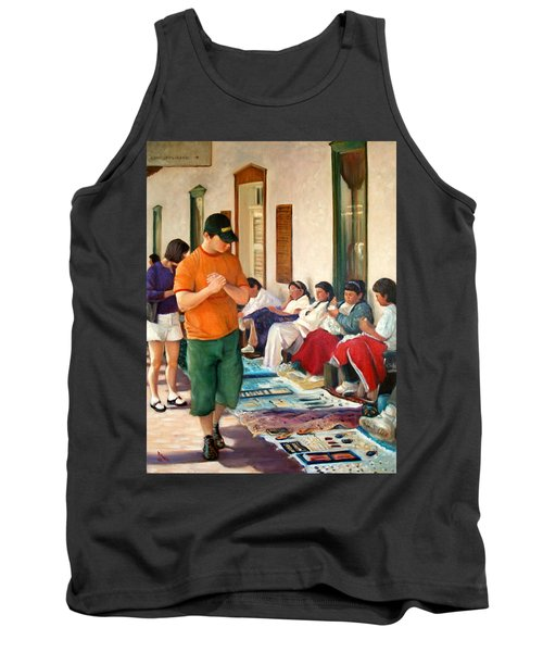 Indian Market Tank Top by Donelli  DiMaria