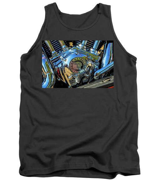 Indian Motor Tank Top by Keith Hawley