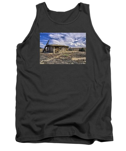 Indian Trading Post Montrose Colorado Tank Top by James Steele