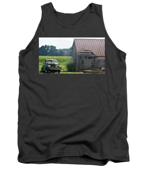 Indiana Back Road Common Denominator Tank Top by John Glass