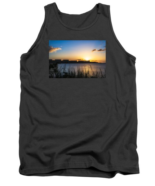 Industrial Sunset Tank Top