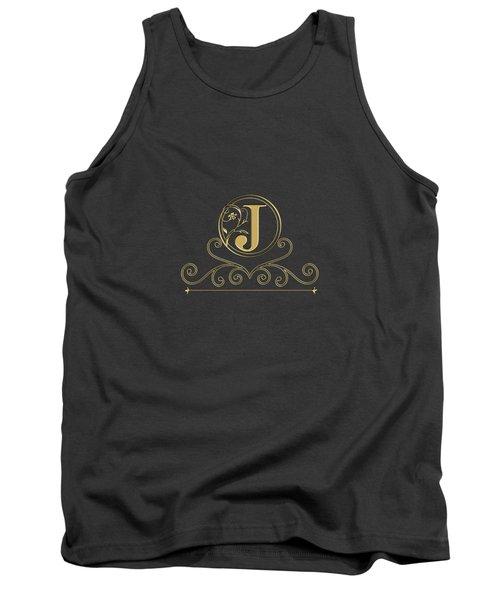 Initial J Tank Top