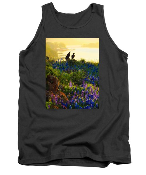 Da228 Inks Lake Love Daniel Adams Tank Top
