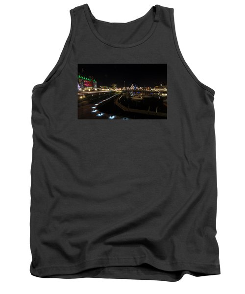 Inner Harbour Of Victoria Bc Tank Top by Marilyn Wilson