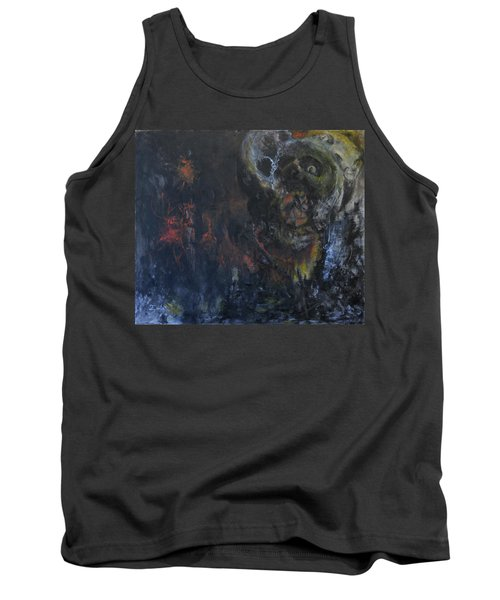 Tank Top featuring the painting Innocence Lost by Christophe Ennis