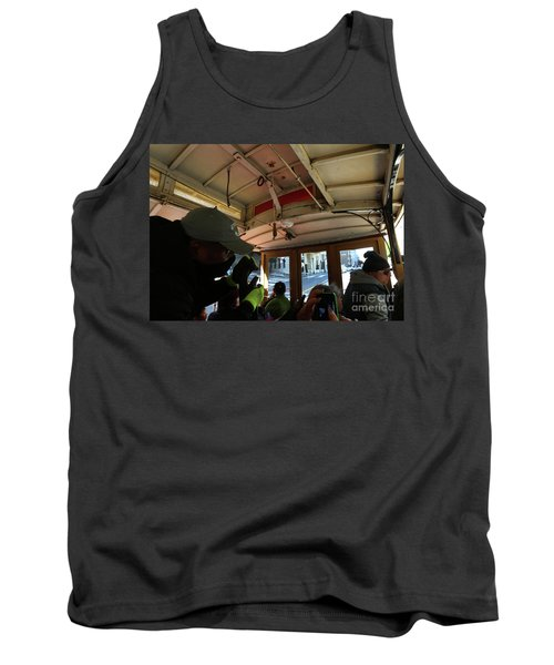 Inside A Cable Car Tank Top
