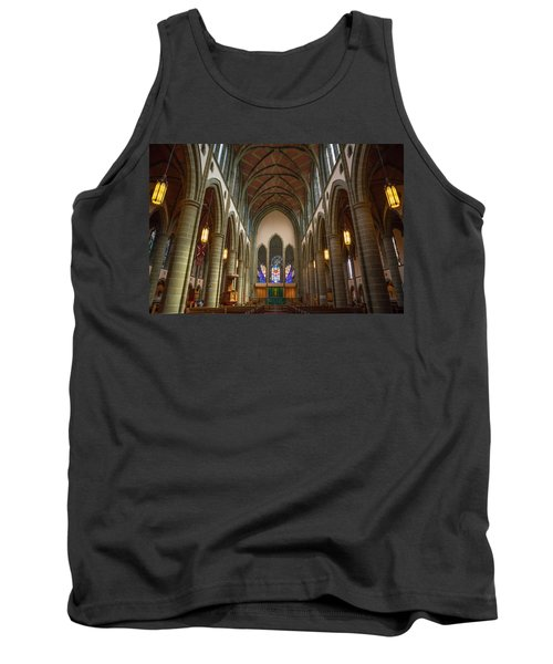 Inside Christchurch Cathedral Tank Top by Keith Boone