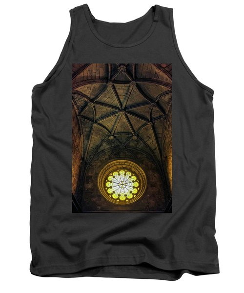 Tank Top featuring the photograph Inside Jeronimos by Carlos Caetano