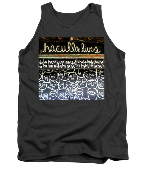 Tank Top featuring the photograph Inside The Carousel House by Colleen Kammerer