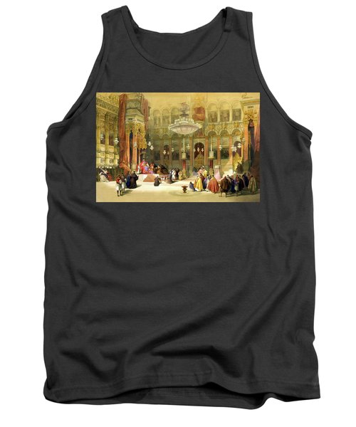 Inside The Church Of The Holy Sepulchre Tank Top