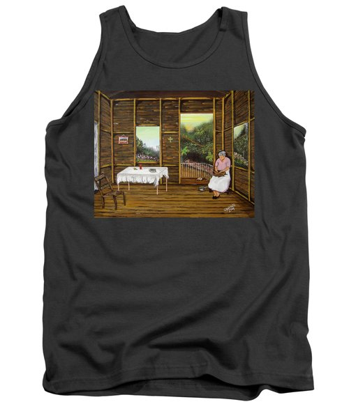 Inside Wooden Home Tank Top