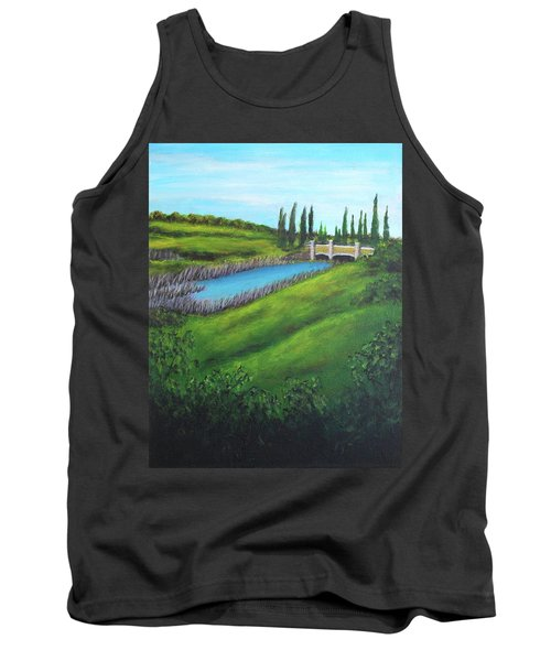 Inspiration In Mountain House Tank Top