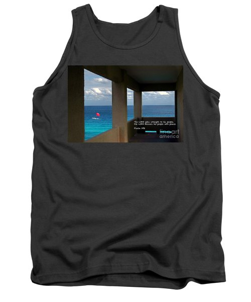 Inspirational - Picture Windows Tank Top