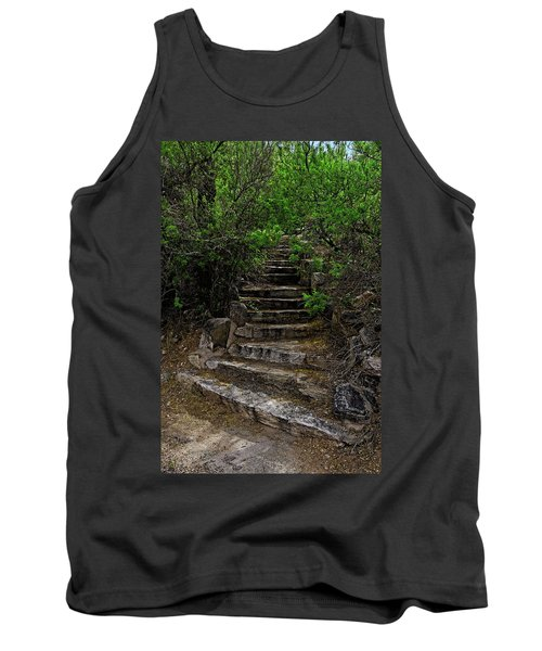 Tank Top featuring the photograph Instep With Nature V53 by Mark Myhaver