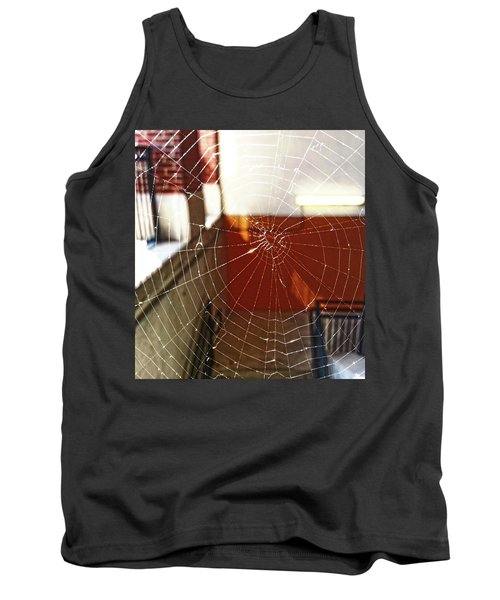 Tank Top featuring the photograph Intact Abandonment by Robert Knight