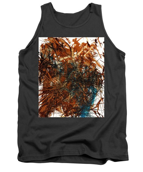Intensive Abstract Expressionism Series 46.0710 Tank Top by Kris Haas
