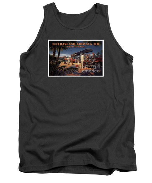 Inter Island Airways-honolulu Hawaii Tank Top