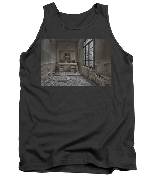 Interior Furniture Atmosphere Of Abandoned Places Dig Photo Tank Top