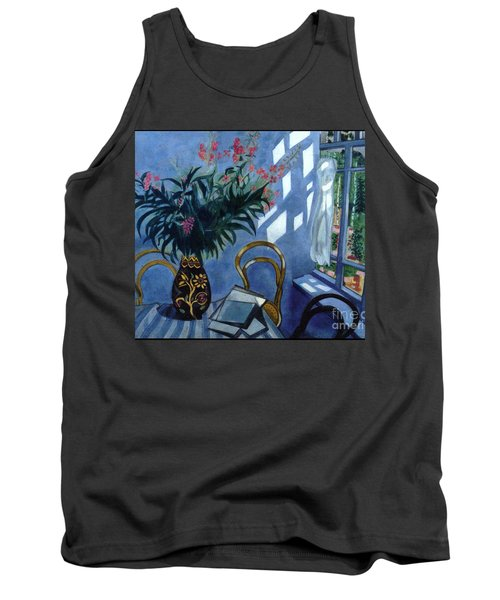Interior With Flowers Tank Top