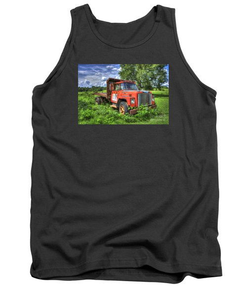 International Retirement Home 1974 International Harvester Company 1600 Loadstar Truck Art Tank Top