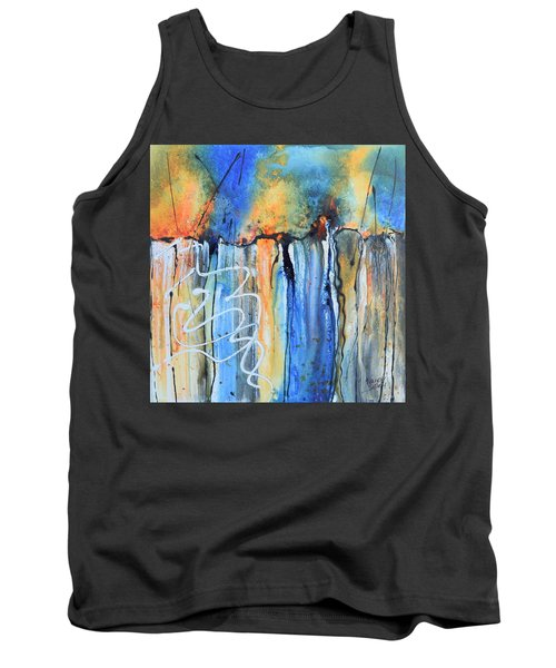 Into The Earth Tank Top by Nancy Jolley