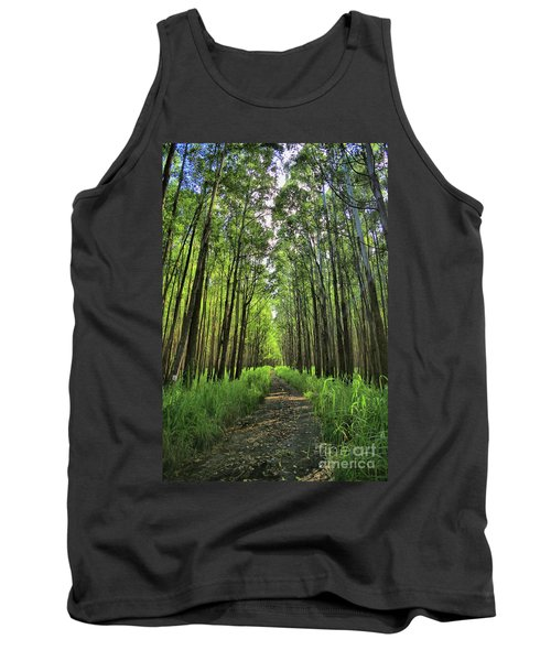 Tank Top featuring the photograph Into The Forest by DJ Florek