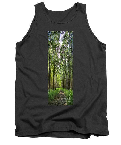 Tank Top featuring the photograph Into The Forest I Go by DJ Florek
