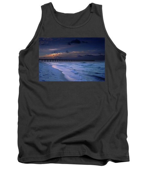 Tank Top featuring the photograph Into The Night by Renee Hardison