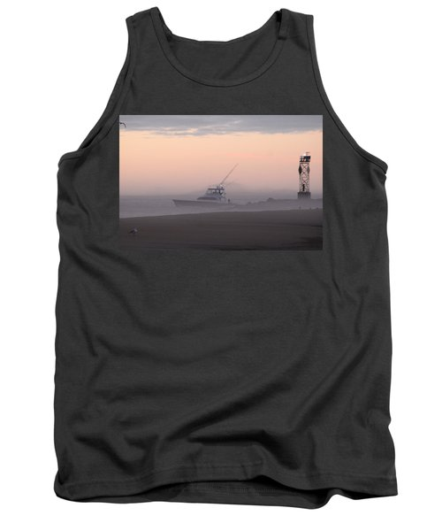 Into The Pink Fog Tank Top