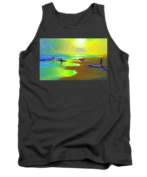 Into The Surf Tank Top