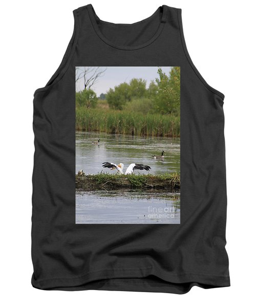 Tank Top featuring the photograph Into The Water by Alyce Taylor
