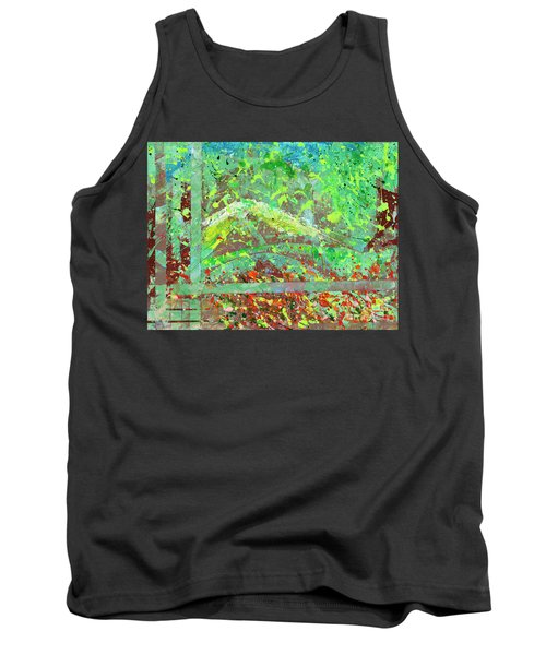 Into The Woods-through The Looking Glass Tank Top