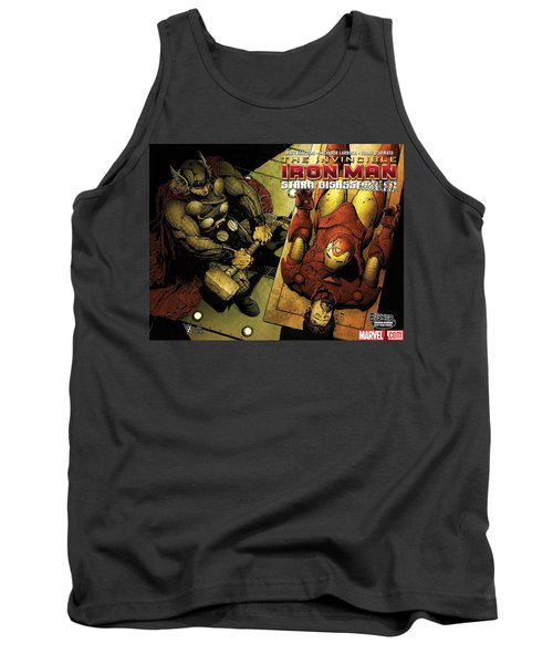 Invincible Iron Man Tank Top