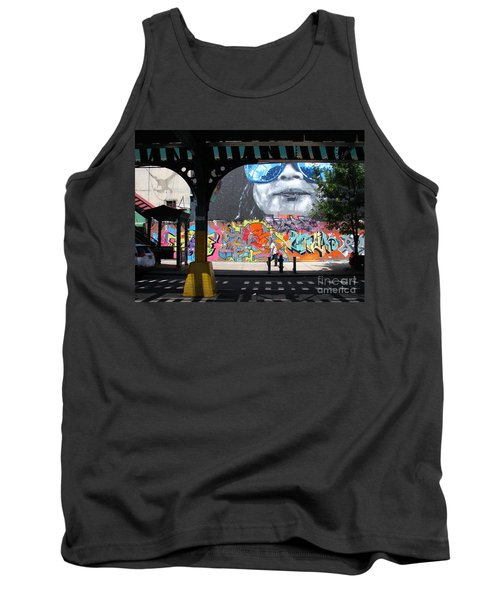 Tank Top featuring the photograph Inwood Street Art  by Cole Thompson