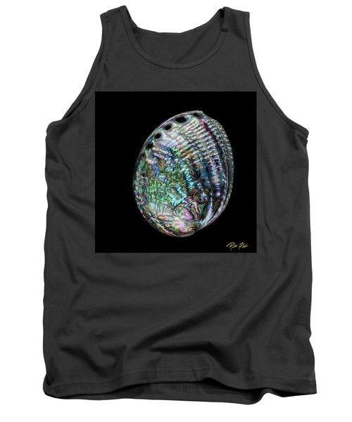Tank Top featuring the photograph Iridescence On The Half-shell by Rikk Flohr