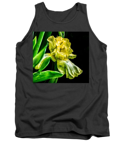 Iris In Bloom Tank Top