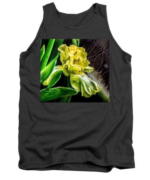 Iris In Bloom Two Tank Top