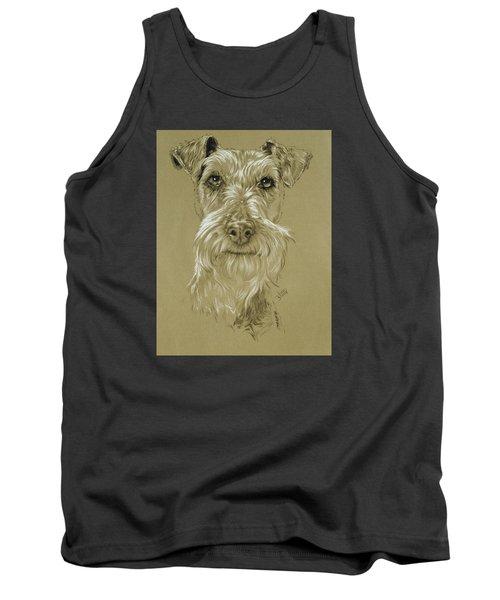 Irish Terrier Tank Top by Barbara Keith
