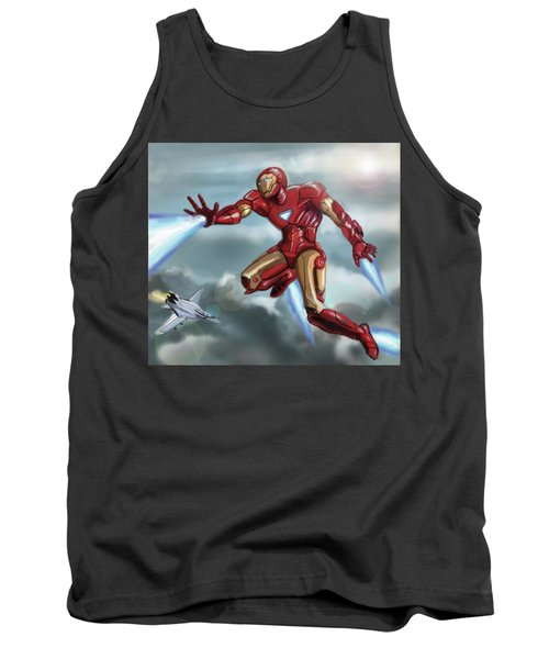 Iron Man Tank Top